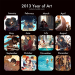 2013 Summary of Art by hakuku