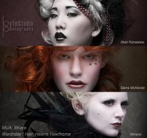 Rococo Dreams - heads by ByteStudio
