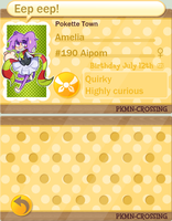 Welcome Amelia to Pokette by DreamerMB