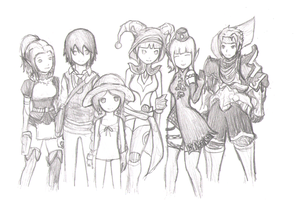 Dragon Nest Family! by Slypheed
