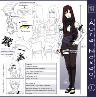 Concept Sheet : Aura Nakao : by Ajdra