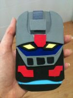 Mazinger Z Mobile Case by anapeig