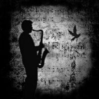 The Saxophone and the Dove by Candela-di-Vita