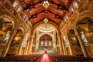 Stanford Memorial Church by tt83x