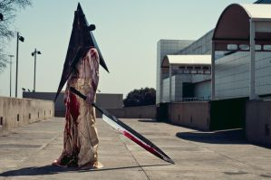 Pyramid Head Cosplay by sixfootunder