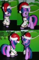 Christmas Twilight Sparkle from My Little Pony by TianaTinuviel