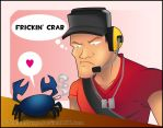 TF2 - Boy and Crab by RatchetMario