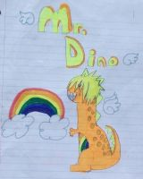 Mr Dino by lithiumharddrive