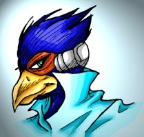 Falco Lombardi colored by Axel26