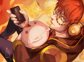 707 Mystic Messenger by OXMiruku