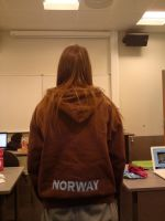 My back .... xD by IronMeow