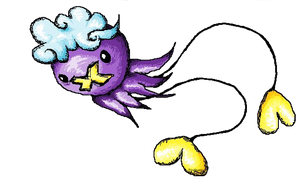 Transparent Drifloon by FireStump