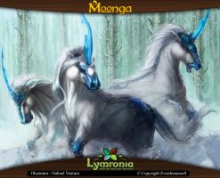 Moonga - Group of Unicorns by moonga