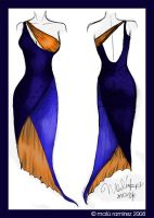 Grad Nite dress design by colorin-productions