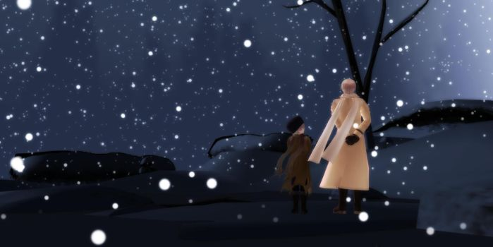 [MMD] APH: Watch the Snow Fall by LockdownVII