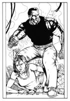 Colossus and Kitty by PeterPalmiotti