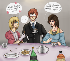 Kiriban: Tea Party by lucy12143