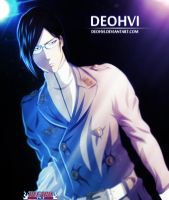 bleach 537 - Uryu Ishida coloring - DEOHVI by DEOHVI