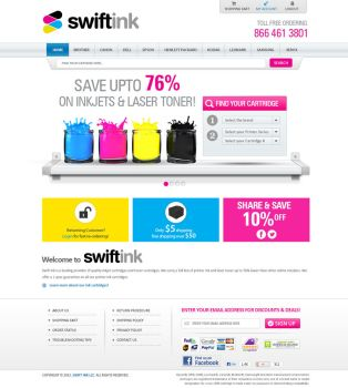 Swift INK PSD Design by shoahmed