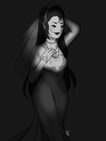 Wed dress 1 by MaryLittleRose