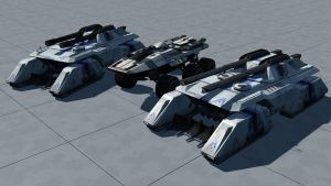 MX722 Tigershark MBT by rex3cutor