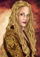 Cercei Lannister Game of Thrones by WinterwoodArts