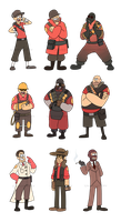 Gravity Fortress 2 Mercs by UnknownSpy