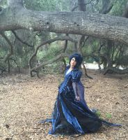 Into the Woods Witch Gown worn by Traci Hines by glimmerwood