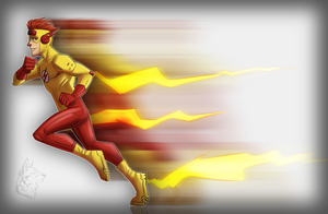 Kid Flash - Young Justice - Earth 16 by IrishWolven