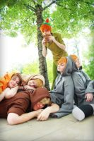 Peter Pan and the Lost Boys by BOiKEM