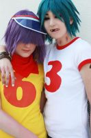 GoRiLLaZ Cosplay 165 by Hikarulein