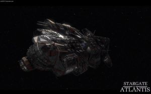 Stargate Atlantis Ancient Ship by bb42001