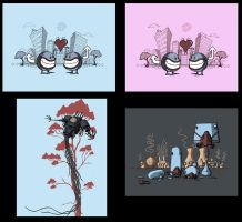 More t-shirt designs by Si2