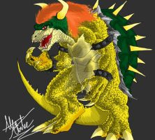 Bowser Redesign by Virus-91