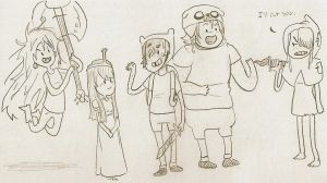 Adventure Time+HTTYD Crossover 2 by sailor663