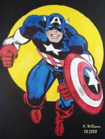 Captain America by 12jack12