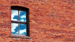 Brick Window by Dugwin