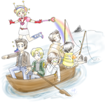 Silent Hill is ON A BOAT by snowyvixen
