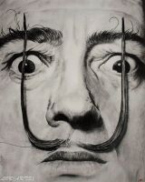 Salvador Dali by LORMarie44