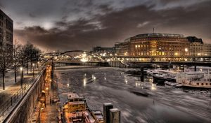 Hamburg Winter by teuphil