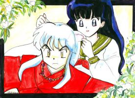 Inuyasha and Kagome by Sailor-Vale