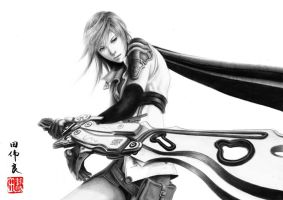 Final Fantasy XIII - Lightning by WilliamTin