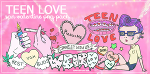 Teen Love - png pack by MermaidTropics