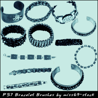 Bracelet Brushes by miss69-stock