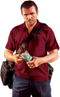 Gta V Render - Michael By Ashish913. by Ashish-Kumar