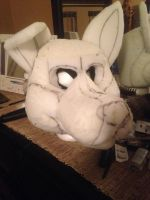 Marley Fursuit WIP #2 by hayrainywolf
