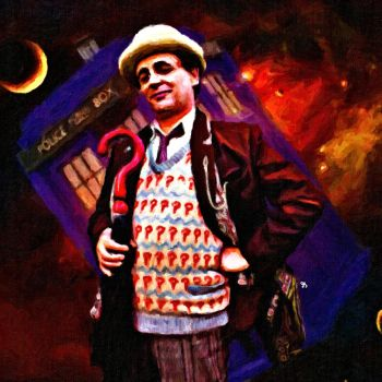 Seventh Doctor by LowBassGuy