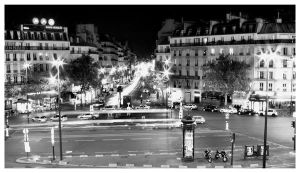 Montparnasse - 21h47 by Sprykritic
