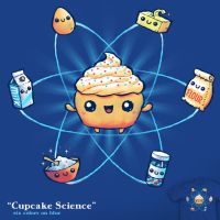 Cupcake Science - tee by InfinityWave