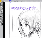 Starline Brush Corel Painter X3 by elsevilla